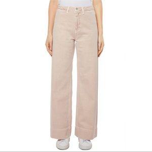J BRAND Hallton High Waist Wide Leg Jeans Memory